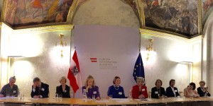 Marmorsaal, 22-10-2015, newly elected/confirmed board members of Welcome to Austria