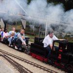 WA Jeunes Familles steam engine model drive